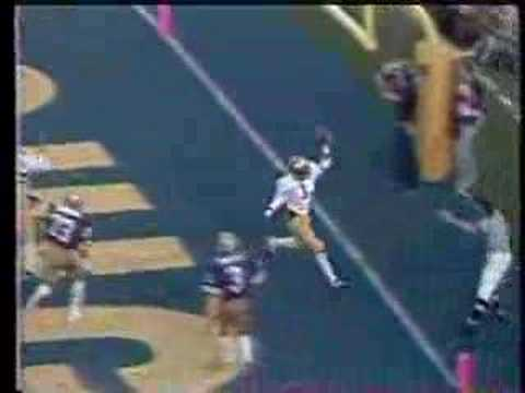 Anthony Carter 1981 Rose Bowl