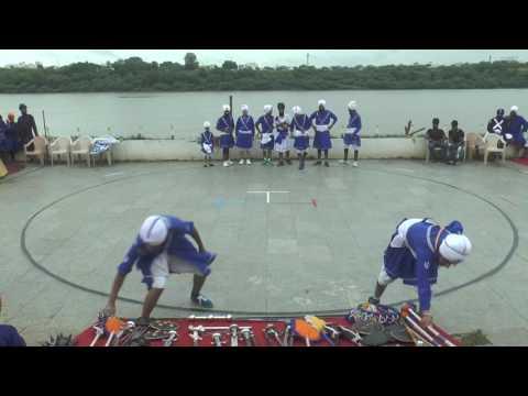 3rd Virsa Sambhal Natonal Gatka competition Nanded-Amritsar Akhada Gatka  demo