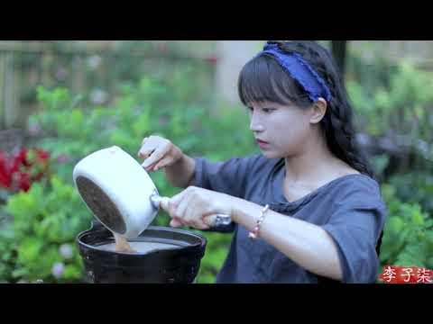 Dragon boat zongzi~龙舟枕头粽,端午记得回家吃粽子 丨Liziqi Channel