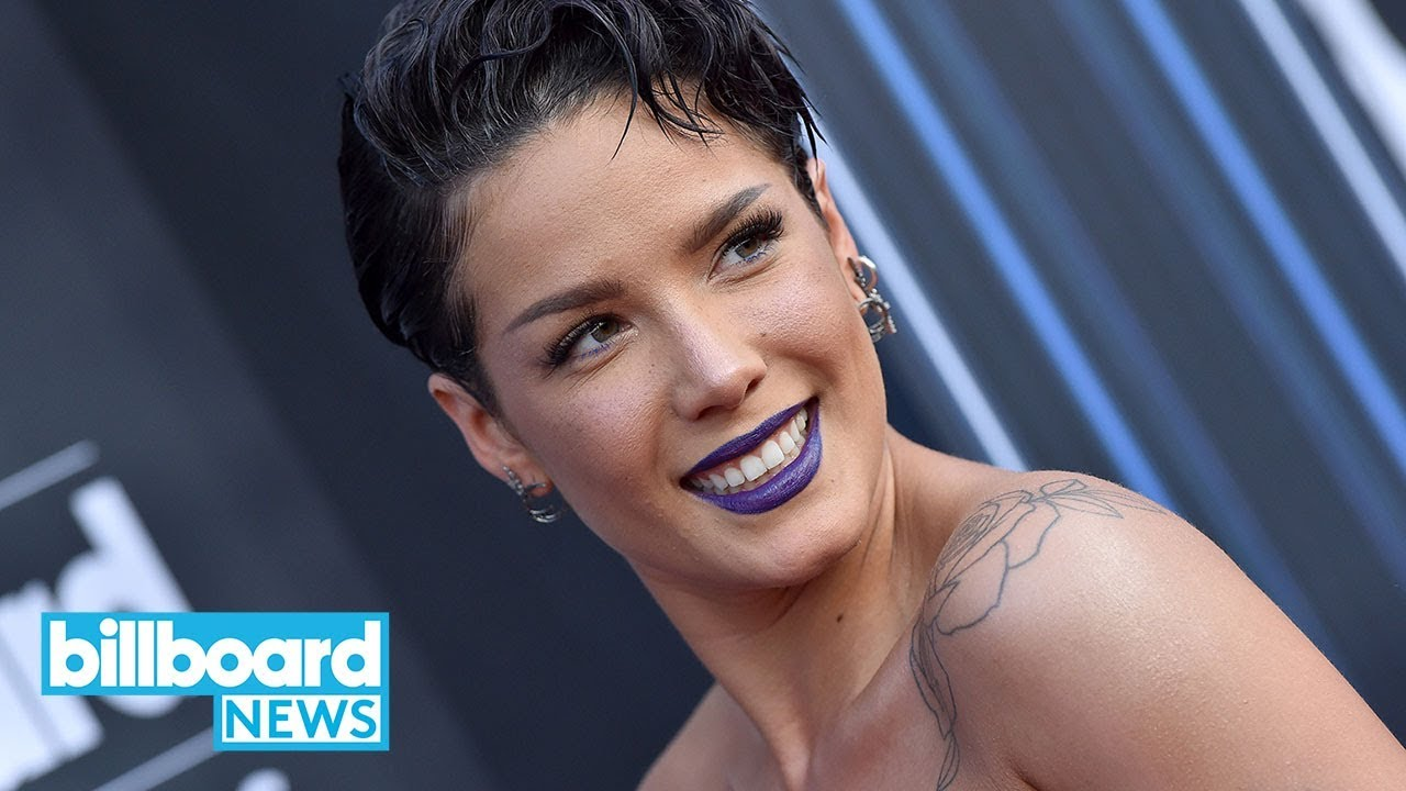Halsey Hints At New Project After Blacking Out Social Media Accounts |  Billboard News