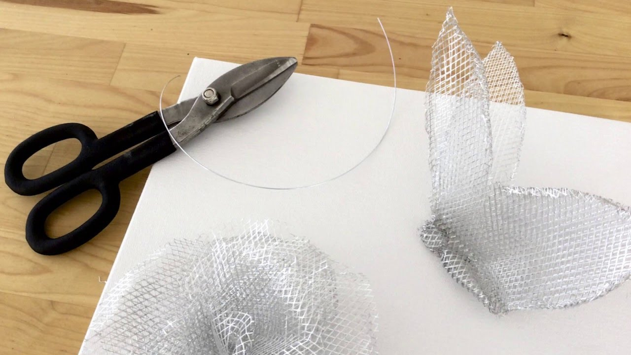 How To: Make a Wire Mesh Wall Sculpture - YouTube