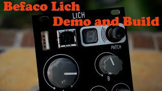 Befaco Lich - Demo and Build video