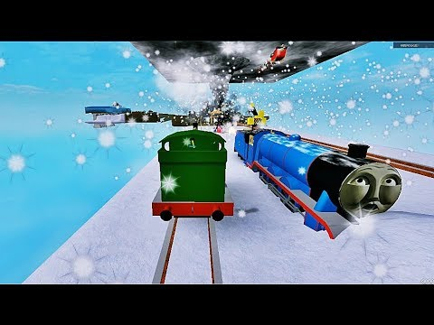 Thomas And Friends Railway Slide Ride Roller Coaster Thomas The Train Roblox 3