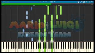 Mario and Luigi Dream Team - The Final Antasma Battle (Synthesia)