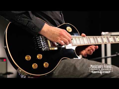 Gibson Custom Alex Lifeson Les Paul Axcess Limited Run Electric Guitar Ebony
