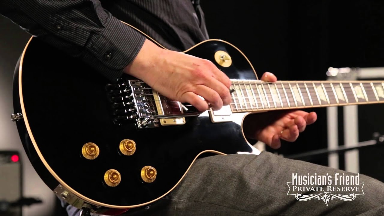 Alex Lifeson's Signature Gibson Les Paul Guitars | Spinditty on