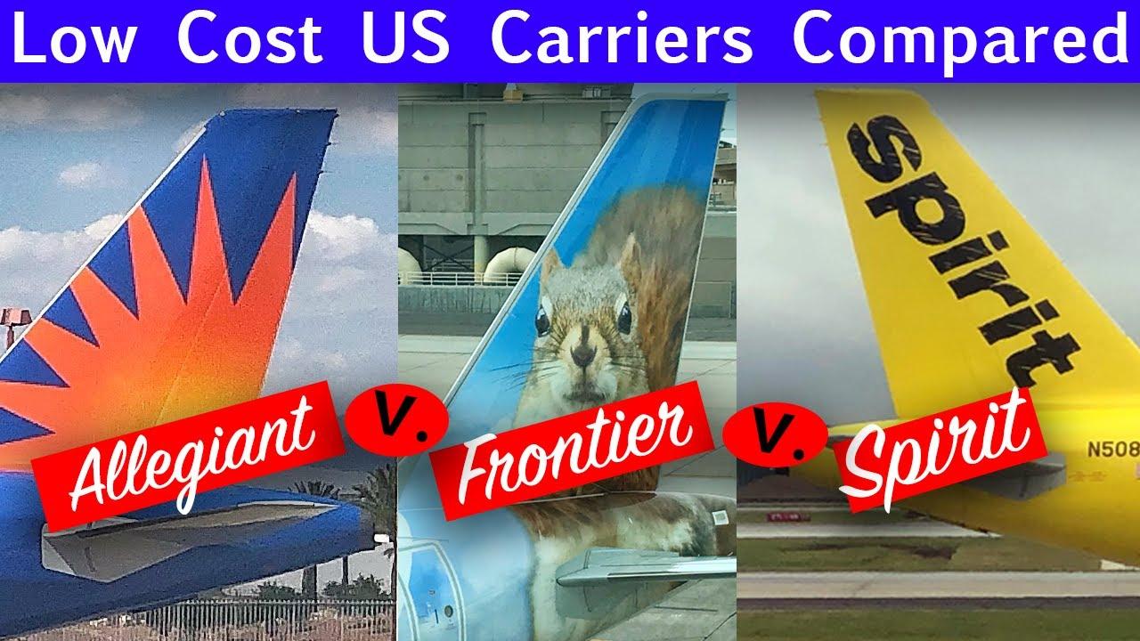 Frontier vs allegiant