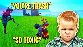 I Acted Toxic in Playground Fill (KID RAGE QUITS)