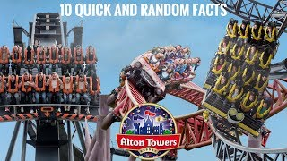 10 Quick And Random Facts About Alton Towers