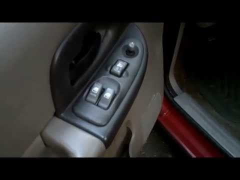Chevrolet Uplander Master Window Switch Removal And Rep