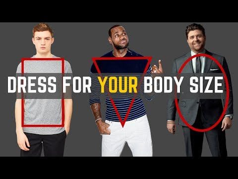How To Dress For Your Body Type/Size