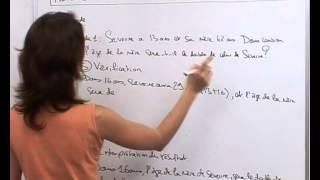 vuclip Résolutions de problèmes avec les équations