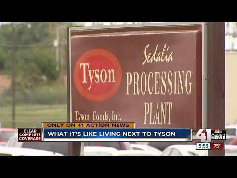 What it's like living next door to a Tyson plant