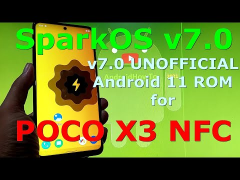 SparkOS v7.0 UNOFFICIAL for Poco X3 NFC ( Surya ) Android 11