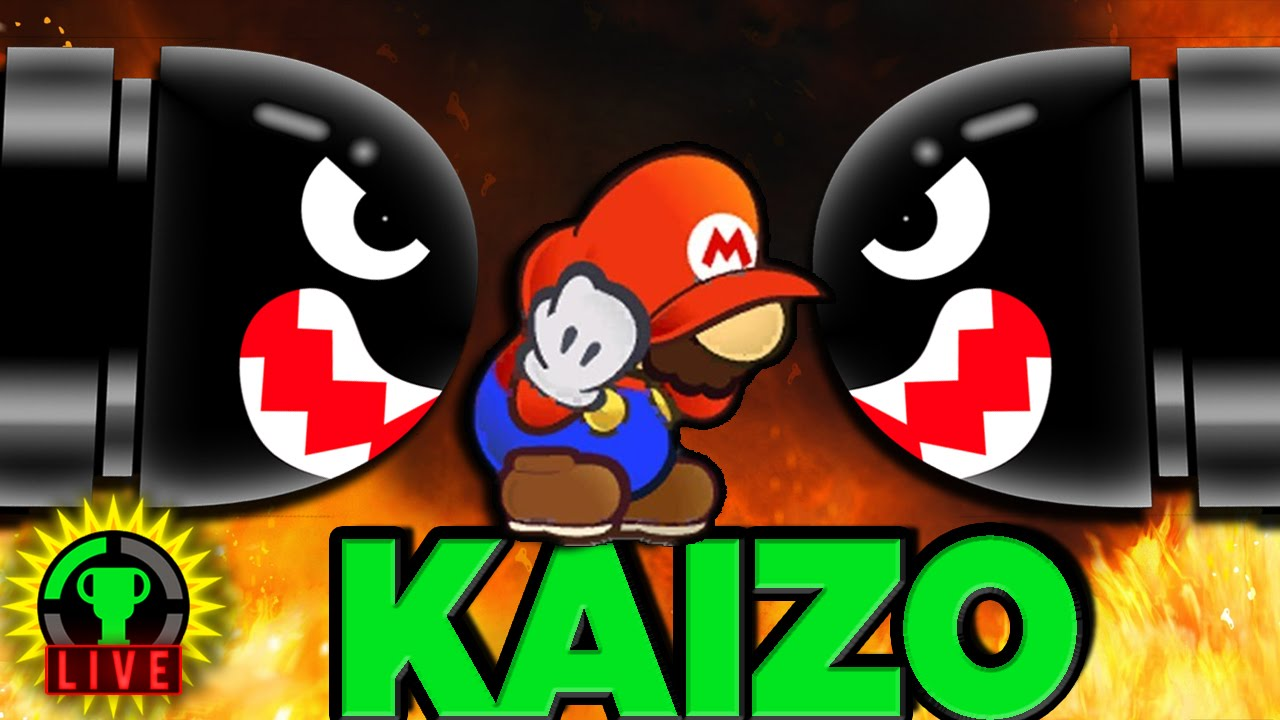 GTLive: Kaizo Mario DEATH AWAITS! - GTLive: Kaizo Mario DEATH AWAITS!