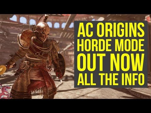 Assassin's Creed Origins Horde Mode OUT NOW -  Tips, How To Access & More (AC Origins Horde Mode)
