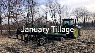 Tillage in January??? You don't see that every day...