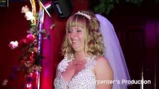 поздравление невесты жениху (Роман + Олеся) (Wedding clip)