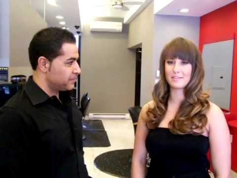 hollywood waves at salon rouge ottawa hair salon youtube