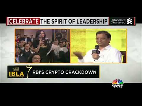 Economic Affairs Secretary on RBI's Decision to BAN Cryptocurrency | #LeadersOfChange