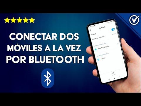 Cómo Conectar dos Dispositivos Móviles Android o iPhone por Bluetooth a la vez