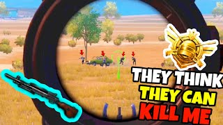 They Thought they can kill a S9 CONQUEROR by stopping in Open in PUBG Mobile •(20 KILLS) PUBG MOBILE