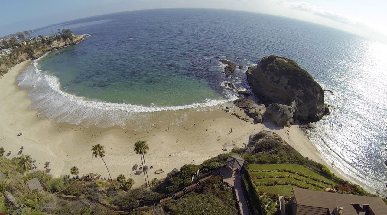 Coast Highway Laguna Beach Home At Three Arch Bay Aerial Drone Video You
