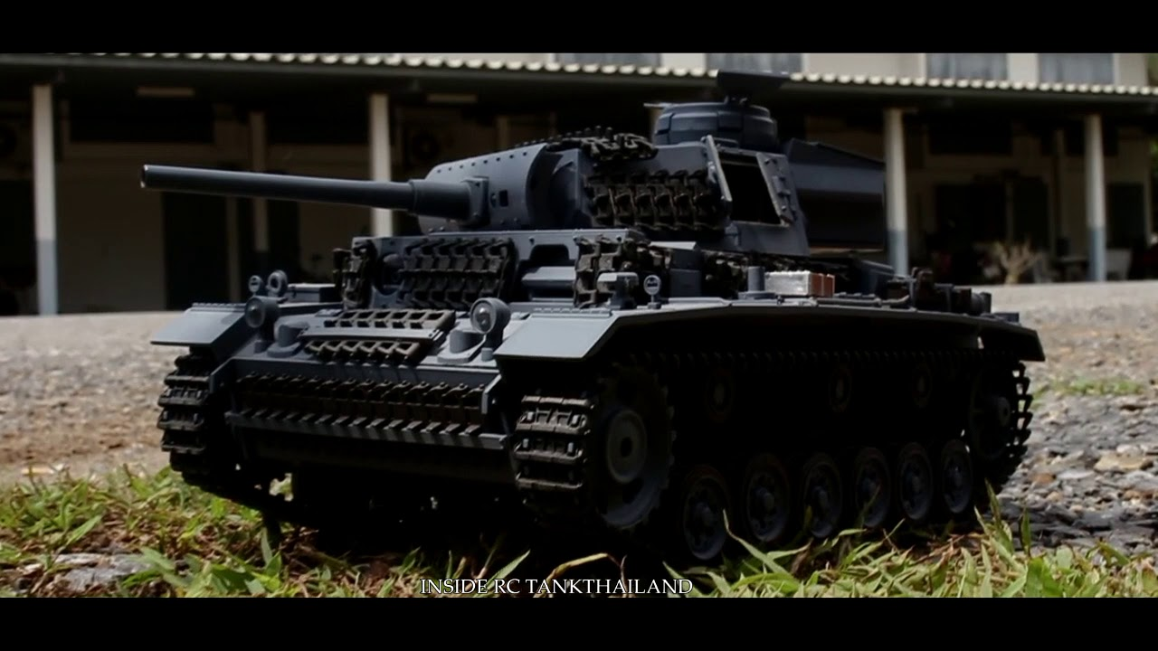 PANZER III rc tank 1/16 [Official MV] #1