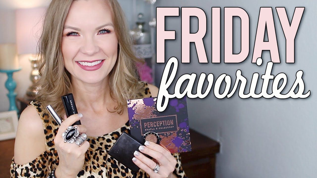 Friday favorites fooeys colourpop covergirl marc