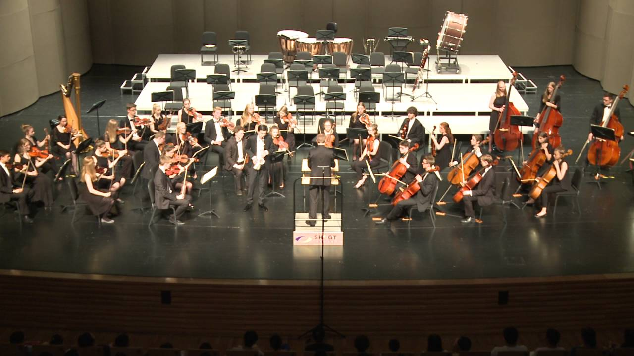 Glazounov: Saxophone Concerto Op.109 Hanchao Jiang & Justus Tennie, LJO Hamburg