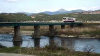 140419 由利高原鉄道YR-2001ゆりてつラッピング