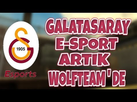 GALATASARAY ESPORT ARTIK WOLFTEAM DA !!!...