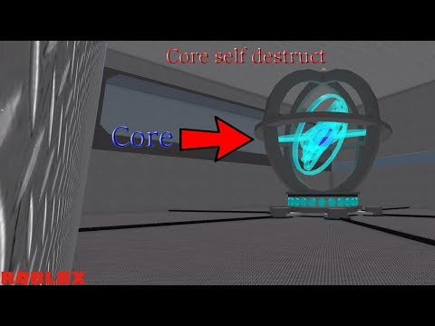 Roblox: Car Crusher: Energy Core and Core Self Destruct