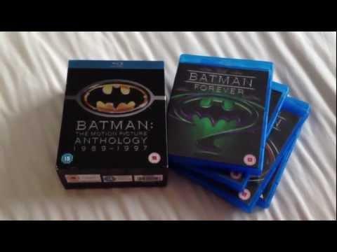 Batman the motion picture anthology 1989-1997 Blu-ray boxset