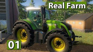 REAL FARM | Erstes Gameplay 🚜 #01 Landwirtschafts Simulation Lets Play deutsch german