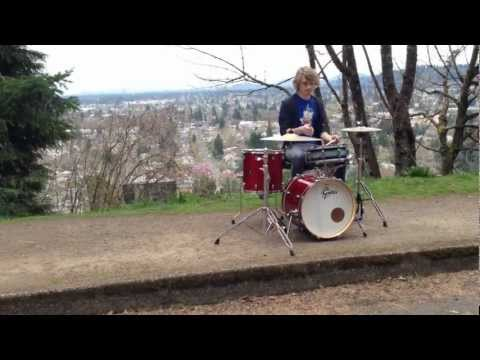 Ron Spielman Trio - ''Raindrops'' (Drum Cover)