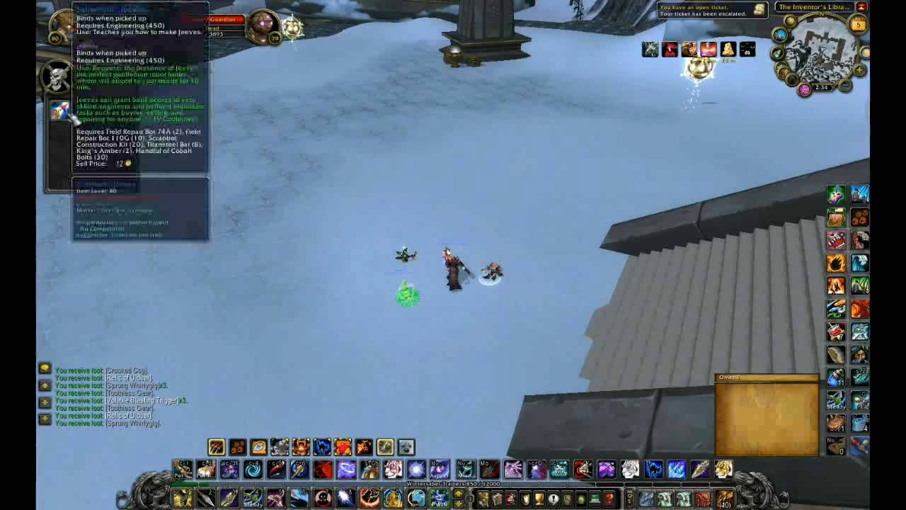 how to get jeeves (engineering) - world of warcraft hunter