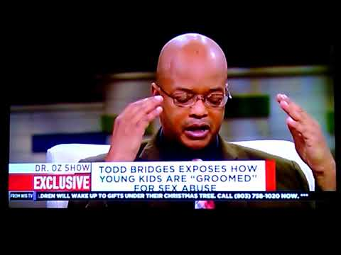 Dr.  Oz Todd Bridges Kids groomed for sex abuse