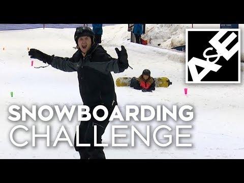 Snowboarding Challenge!