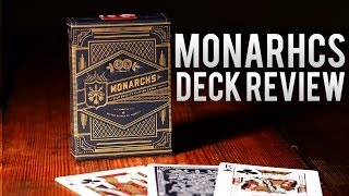 Deck Review - The Monarchs Deck by Theory 11