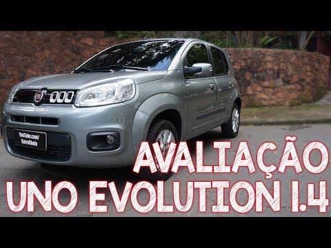 Avaliação Fiat Uno 1.4 Evolution 2014 - O UNO Mais Completo Que Você Vai Ver Hoje!