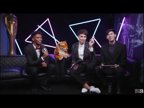 Dan and Phil - 2016 Brit Awards
