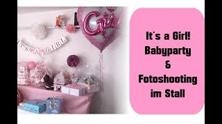 [Vlog] It´s a Girl! Babyparty Überraschung ❤️ | 29.+30.09.2018