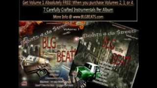 Beats 4 da Streets vol.1 (BLG Beats) 7 Dirty South Trap Instrumental Beats Album