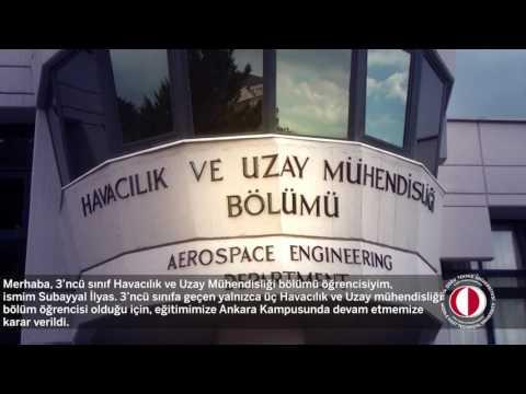 Aerospace Engineering / Havacılık ve Uzay Mühendisliği