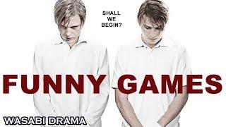 【哇薩比抓馬】憤怒,絕望,一場花樣美男虐待富人的遊戲《趣味遊戲》驚悚電影解說Wasabi Drama