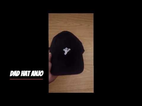Onde Comprar Boné Aba Curva Dad Hat Fita - YouTube 3136052c247