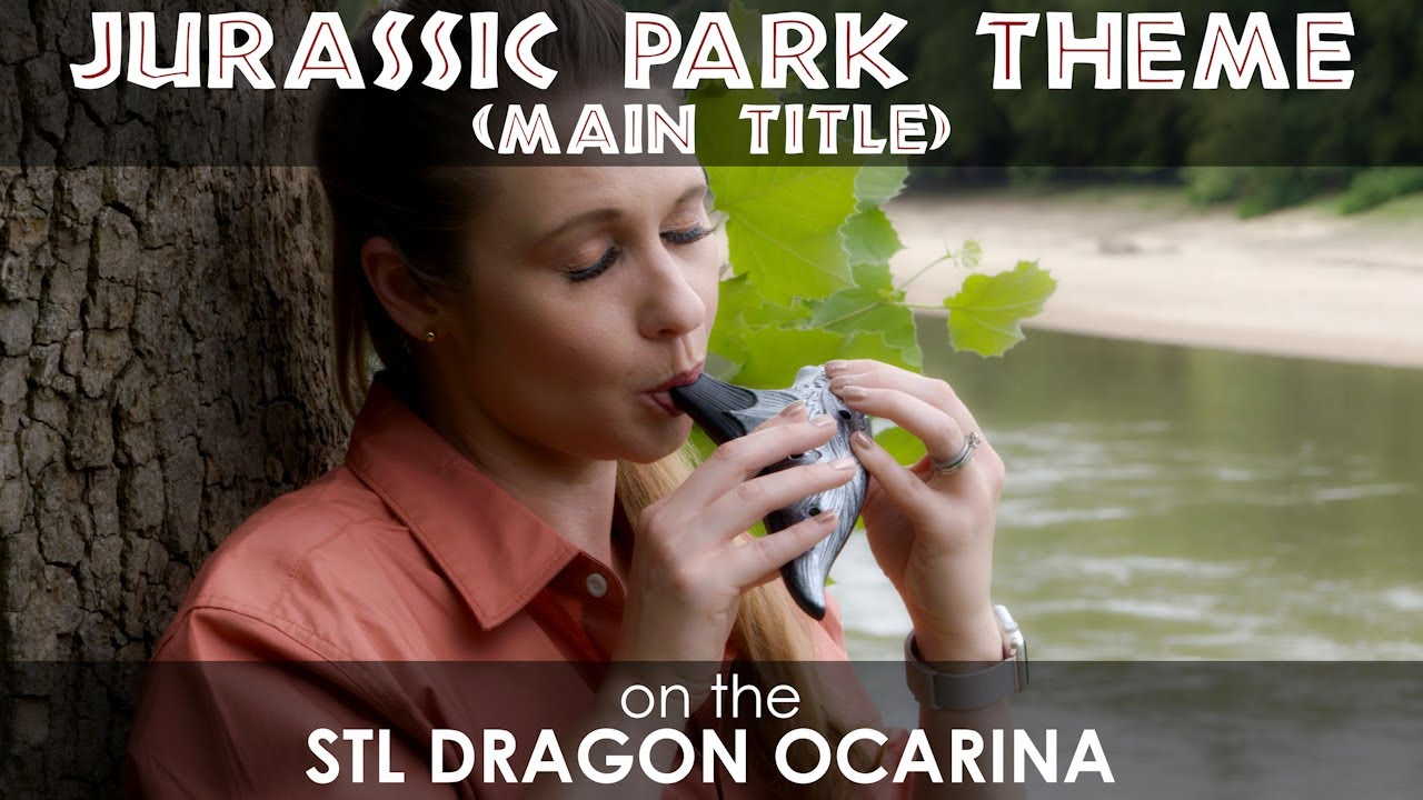 Jurassic Park Theme on STL Dragon Ocarina