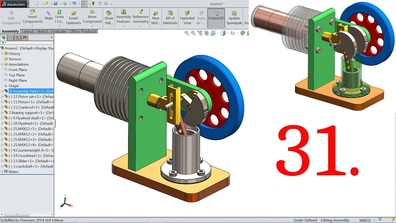 can stirling engine tutorial how to part