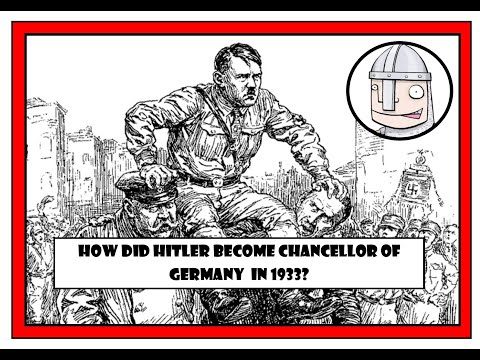 an overview of the role of hitler as a chancellor of germany Adolf hitler, the holocaust and world war 2 on january 30,1933, president paul von hindenburg appointed hitler chancellor of germany once in this position.